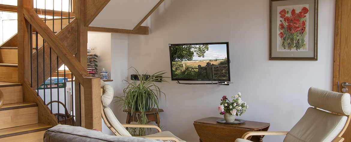 Brambles Barn TV Area