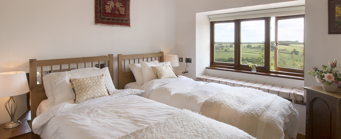 Brambles Barn Twin Bedroom